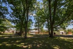Esplanade collège Montaigne Lormont