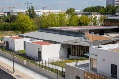 Réfectoire collège Montaigne Lormont