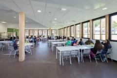 Réfectoire collège Montaigne de Lormont