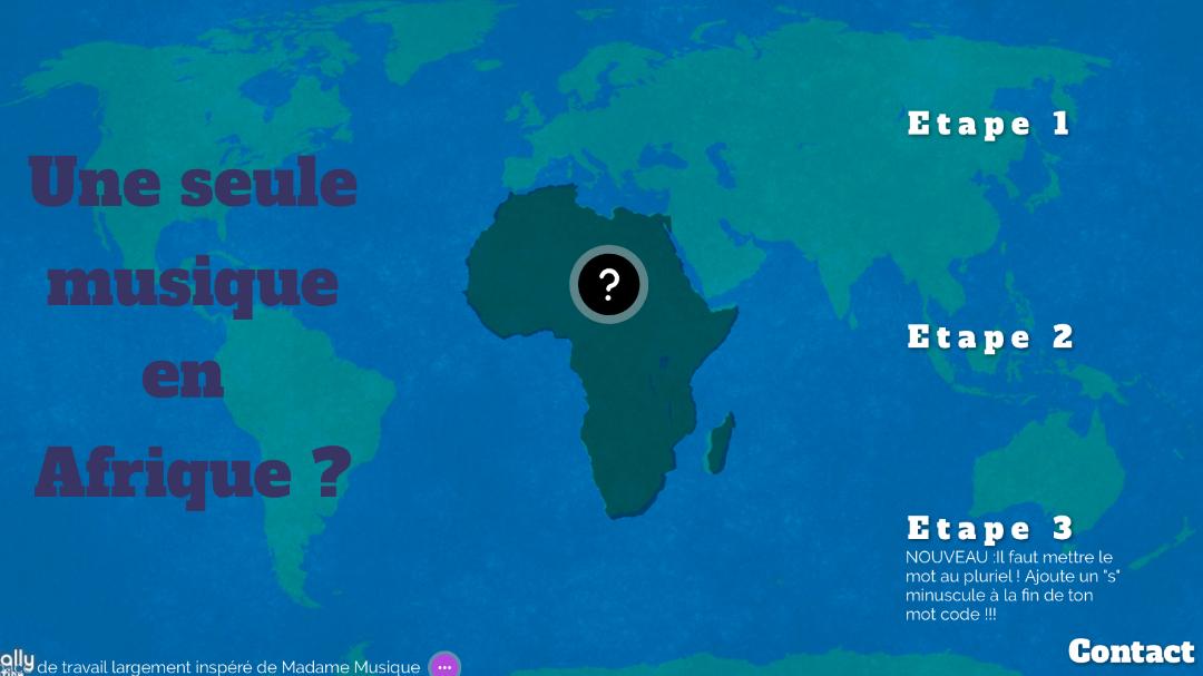En 5° : Voyage en Afrique et en musique !