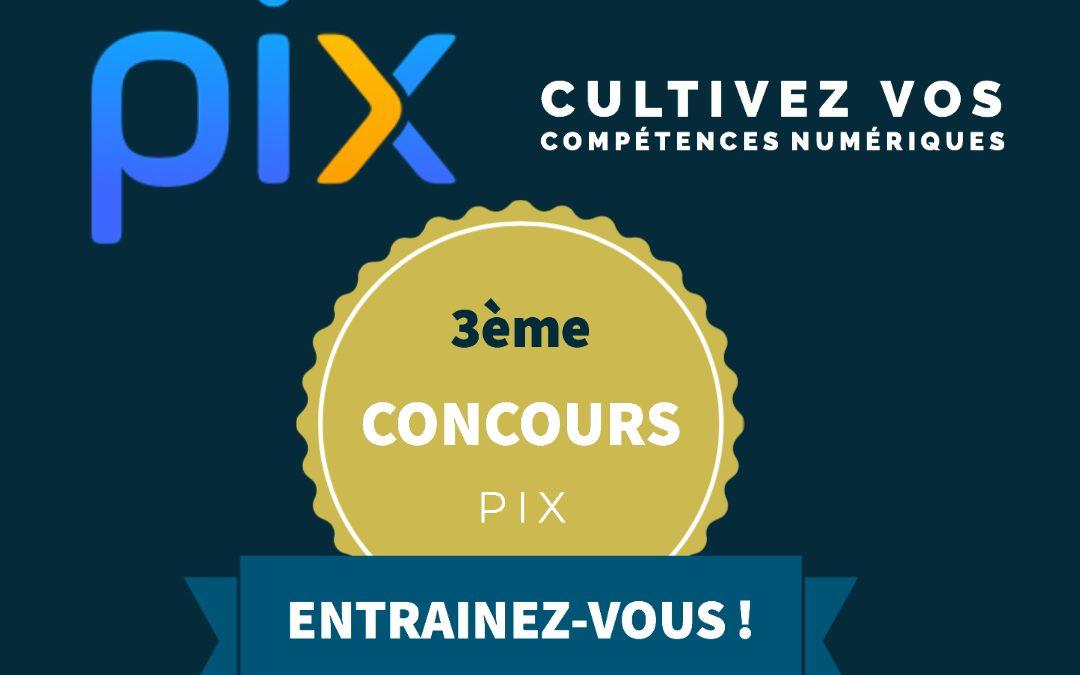 Résultats concours PIX #3