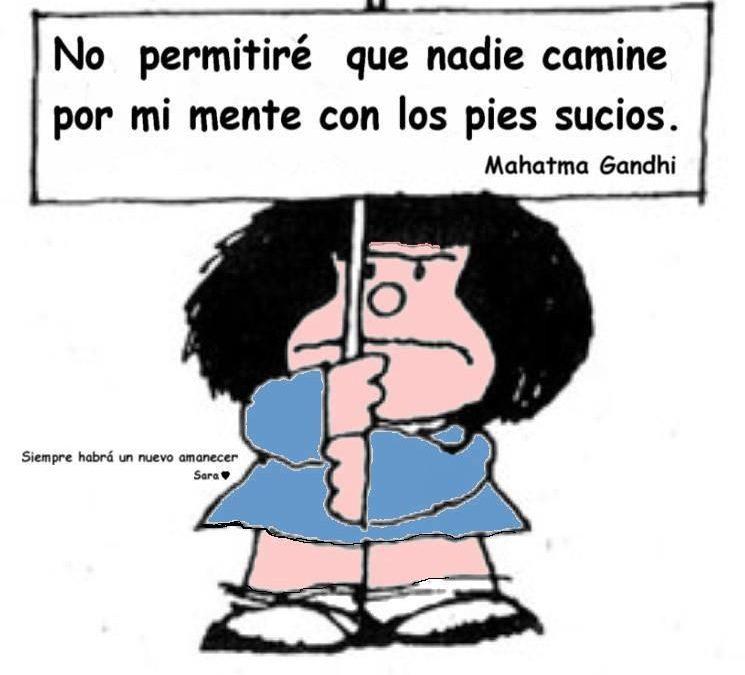 Mensaje de Mafalda